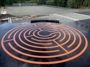 c̓əsqənelə Elementary Labyrinth