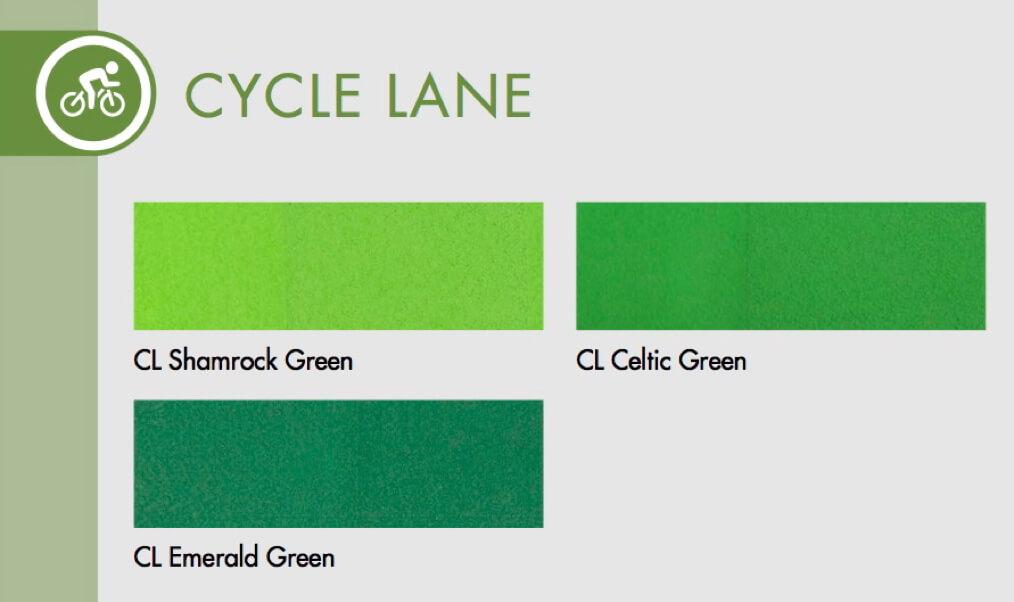 StreetBond Bike Lanes Colors