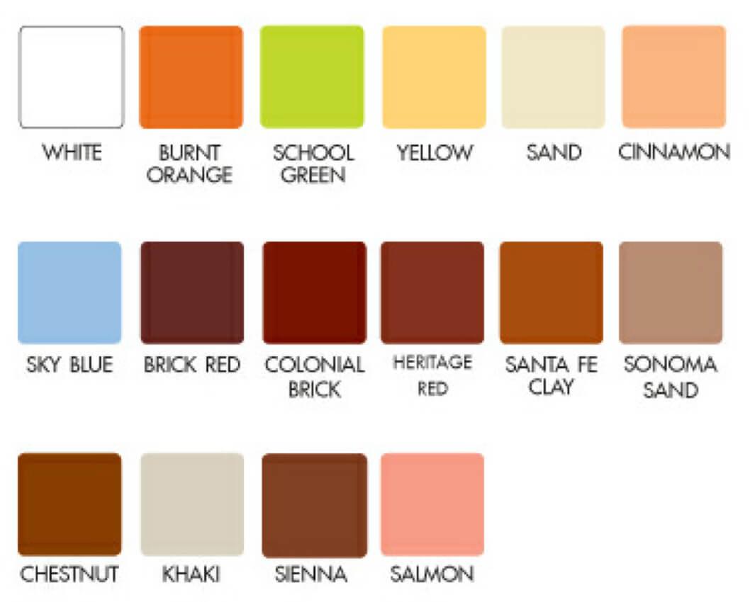 DuraTherm Colours