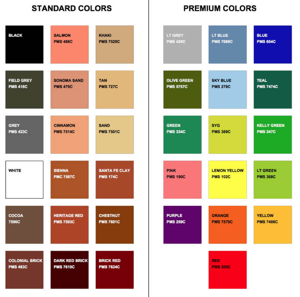 TrafficPatterns - Solid, Standard & Premium Colours