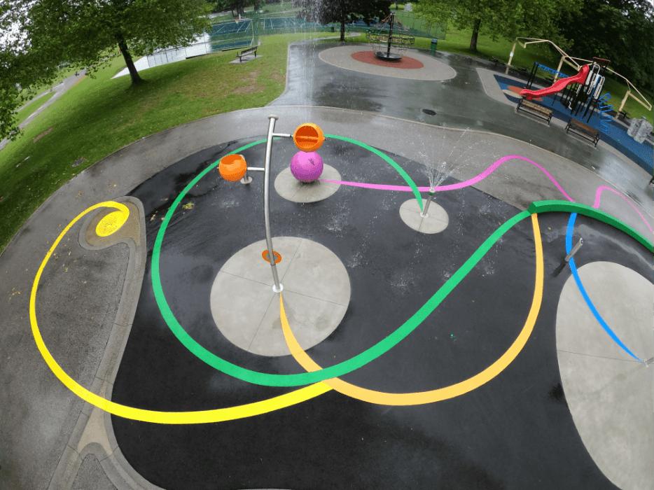 confederation park water park splash pad