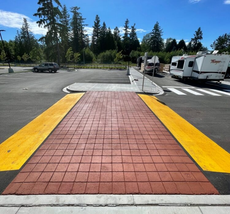 visible school crosswalk for safety